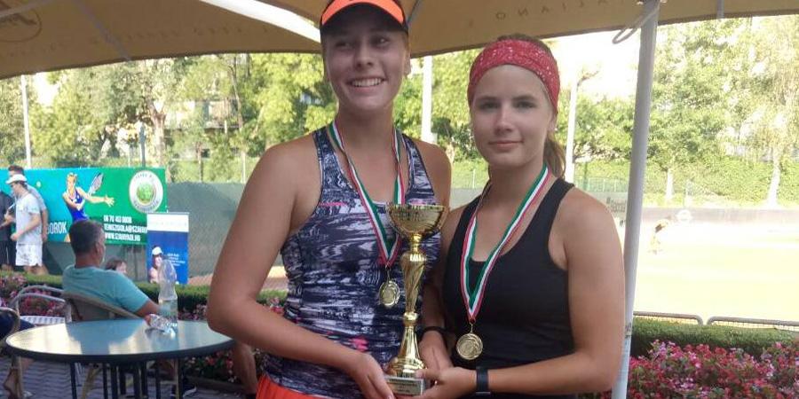 Két aranyat nyertek a debreceniek a korosztályos magyar teniszbajnokságon