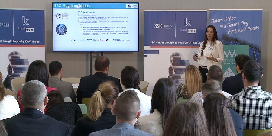 Már Debrecen második legnagyobb gazdasági ágazata az SSC-szektor – videóval