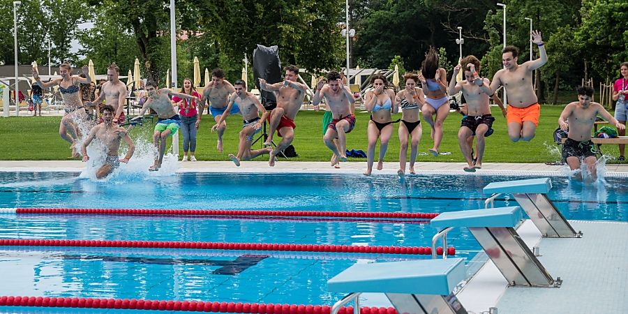 Strandmaratonnal várta a látogatókat az új Aquaticum Debrecen Strand – fotókkal